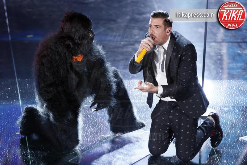 Francesco Gabbani - Sanremo - 11-02-2017 - Sanremo 2017: le foto della serata finale