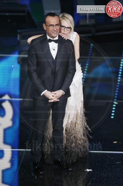 Maria De Filippi, Carlo Conti - Sanremo - 12-02-2017 - Sanremo 2017: le foto della serata finale