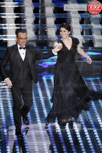 Geppi Cucciari, Carlo Conti - Sanremo - 12-02-2017 - Sanremo 2017: le foto della serata finale