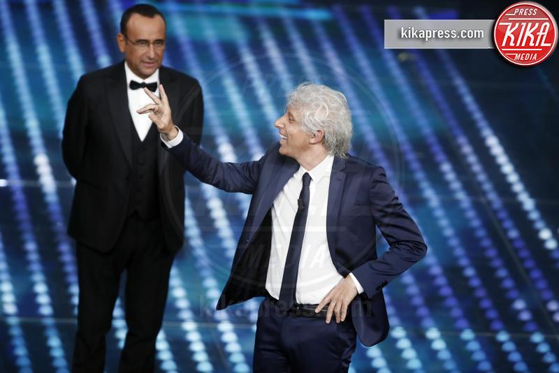 Ubaldo Pantani, Carlo Conti - Sanremo - 12-02-2017 - Sanremo 2017: le foto della serata finale