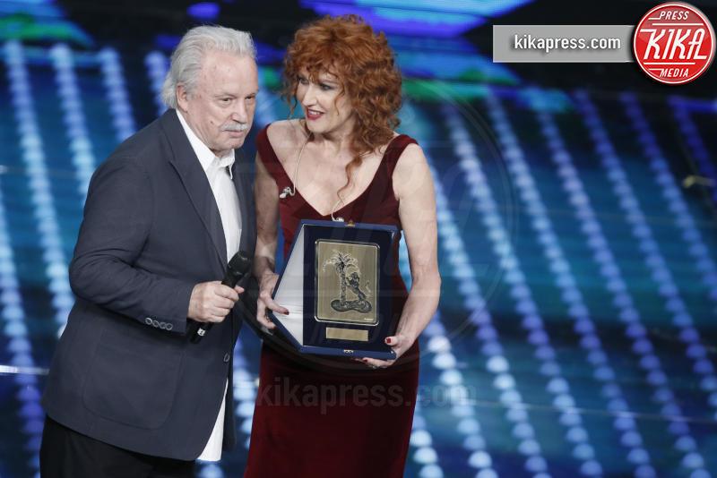 Giorgio Moroder, Fiorella Mannoia - Sanremo - 12-02-2017 - Sanremo 2017: le foto della serata finale