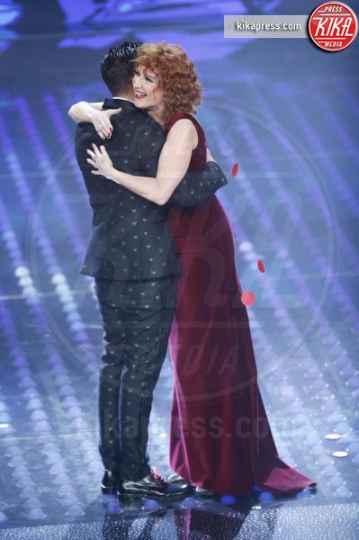 Francesco Gabbani, Fiorella Mannoia - Sanremo - 12-02-2017 - Sanremo 2017: le foto della serata finale