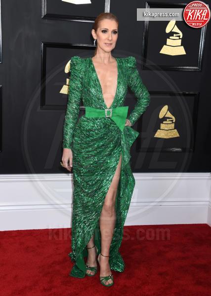 Celine Dion - Los Angeles - 12-02-2017 - Grammy Awards 2017: le dive prendono di petto il red carpet