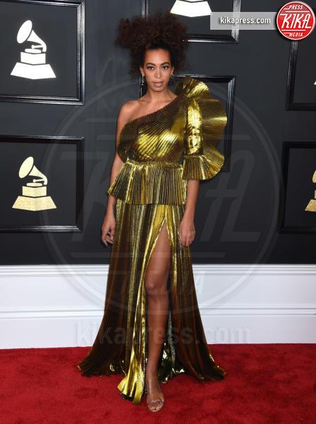 Solange Knowles - Los Angeles - 12-02-2017 - Grammy Awards 2017: ma le gambe sono belle ancor di più!
