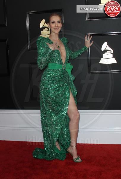 Celine Dion - Los Angeles - 12-02-2017 - Grammy Awards 2017: ma le gambe sono belle ancor di più!