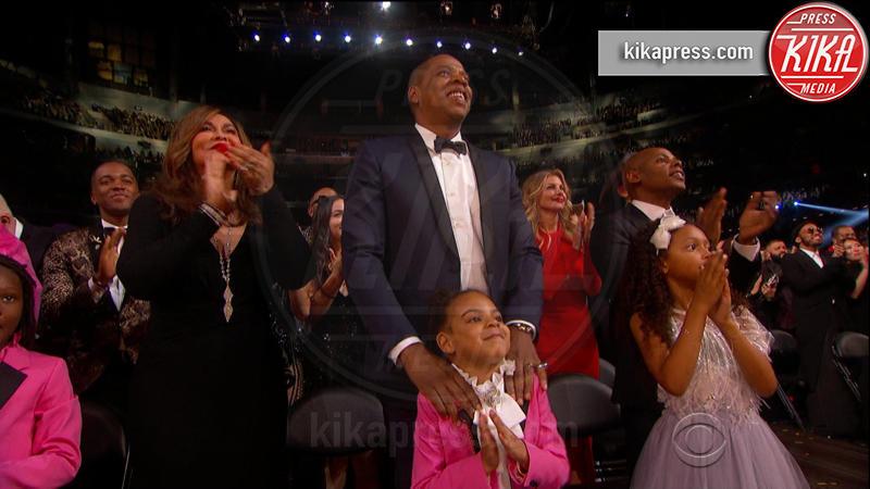 Blue Ivy Carter, Jay Z - 13-02-2017 - Grammy Awards: le immagini della cerimonia