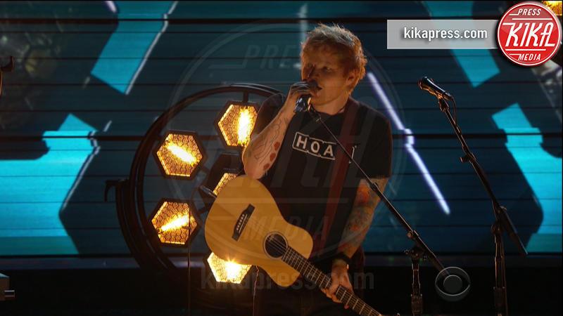 Ed Sheeran - 13-02-2017 - Grammy Awards: le immagini della cerimonia