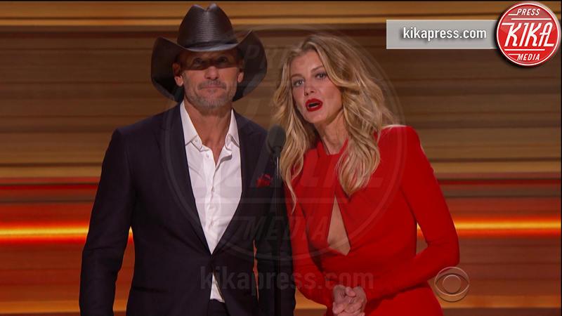 Tim McGraw, Faith Hill - 13-02-2017 - Grammy Awards: le immagini della cerimonia