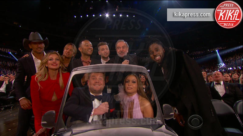 Ryan Tedder, Jason Derulo, John Legend, Neil Diamond, Tim McGraw, Keith Urban, Jennifer Lopez, Faith Hill - 13-02-2017 - Grammy Awards: le immagini della cerimonia