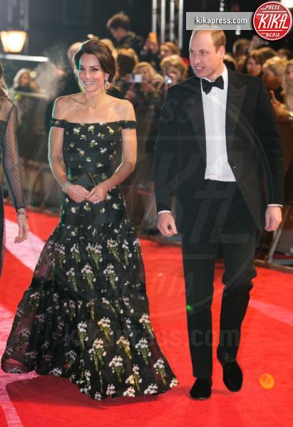Britain's Catherine, Principe William, Kate Middleton - Londra - 12-02-2017 - Kate Middleton incinta per la terza volta