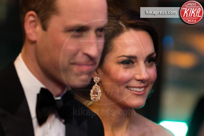 Britain's Catherine, Prince William, Principe William, Kate Middleton - Londra - 12-02-2017 - Kate Middleton incinta per la terza volta