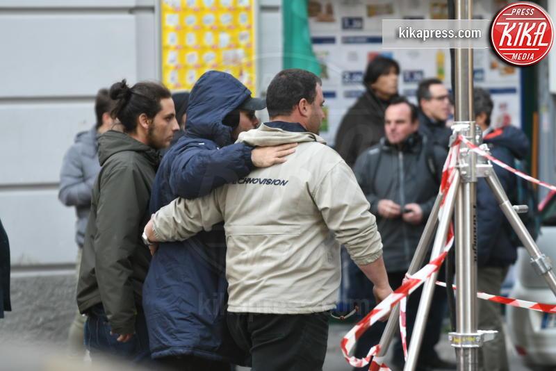 Marco D'Amore - Set Gomorra - Napoli - 14-02-2017 - Gomorra - La Serie: la terza stagione riparte dal Vomero