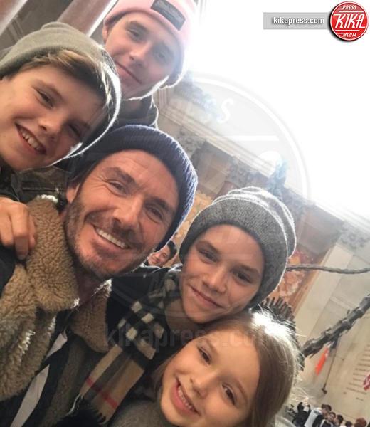 Cruz Beckham, Romeo Beckham, Brooklyn Beckham, David Beckham - Los Angeles - San Valentino, come l'hanno passato le star?