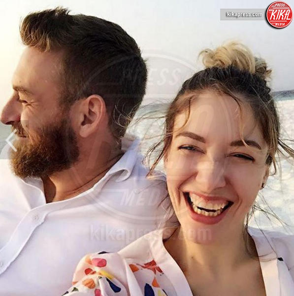 Daniele  De Rossi, Sarah Felberbaum - Los Angeles - San Valentino, come l'hanno passato le star?