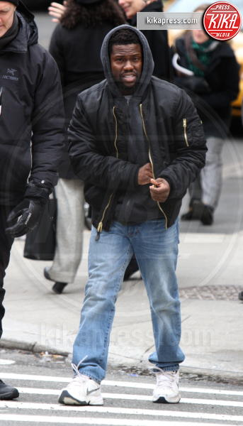 Kevin Hart - New York - 14-02-2017 - Quasi Amici: sul set del remake con Bryan Cranston e Kevin Hart