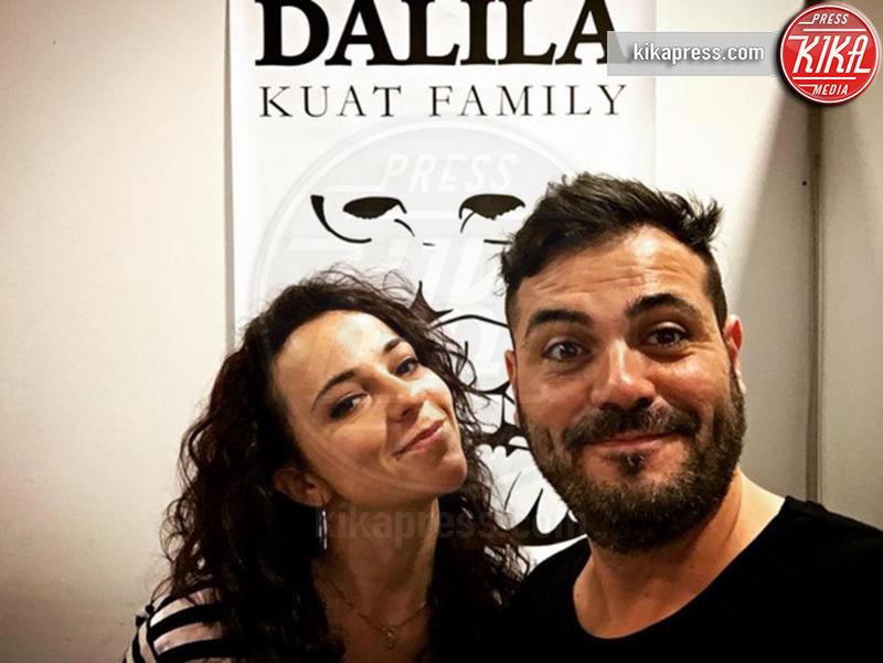 Andrea Secci, Dalila Iardella - Milano - 16-02-2017 - Francesco Gabbani: ecco chi è la sua fidanzata