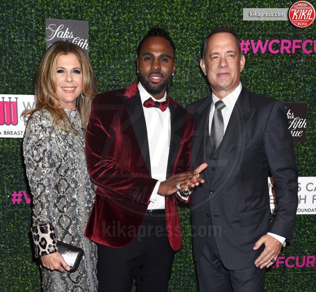 Jason Derulo, Tom Hanks, Rita Wilson - Beverly Hills - 16-02-2017 - Tom Hanks e Rita Wilson vivono Una serata indimenticabile
