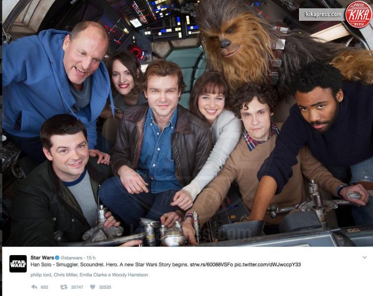 Alden Ehrenreich, Star Wars, Woody Harrelson - 22-02-2017 - Star Wars, Ron Howard alla regia dello spin-off su Ian Solo