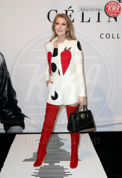 Celine Dion - Las Vegas - 22-02-2017 - Il look di San Valentino? Pieno di baci... e di cuori!