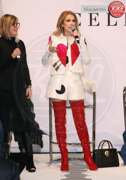 Johanne Boivin VP Designer, Celine Dion - Las Vegas - 22-02-2017 - Il look di San Valentino? Pieno di baci... e di cuori!