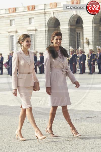 Juliana Awada, Letizia Ortiz - Madrid - 22-02-2017 - Letizia di Spagna, regina di stile con genio e... regolatezza!