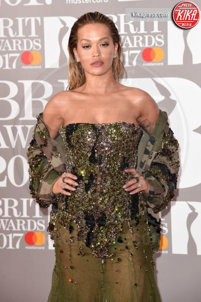 Rita Ora - Londra - 22-02-2017 - Brit Awards: Katy Parry, nuova acconciatura nella notte di Bowie
