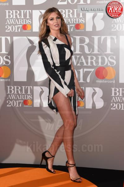Abbey Clancy - Londra - 22-02-2017 - Brit Awards: Katy Parry, nuova acconciatura nella notte di Bowie
