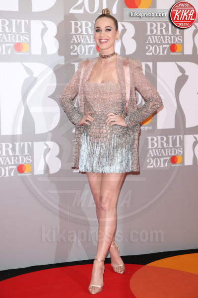 Katy Perry - Londra - 22-02-2017 - Brit Awards: Katy Parry, nuova acconciatura nella notte di Bowie