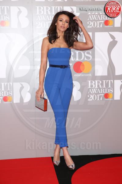Michelle Keegan - Londra - 22-02-2017 - Brit Awards: Katy Parry, nuova acconciatura nella notte di Bowie