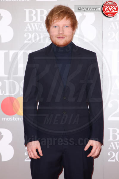 Ed Sheeran - Londra - 22-02-2017 - Brit Awards: Katy Parry, nuova acconciatura nella notte di Bowie