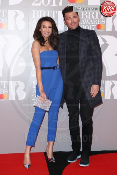 Mark Wright, Michelle Keegan - Londra - 22-02-2017 - Brit Awards: Katy Parry, nuova acconciatura nella notte di Bowie