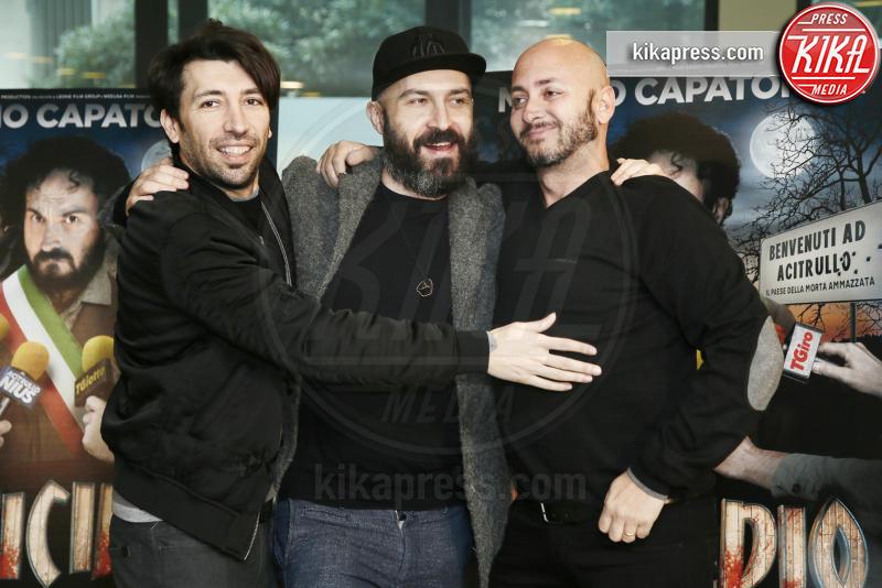 Ivo Avido, Herbert Ballerina, Maccio Capatonda - Milano - 23-02-2017 - Omicidio all'italiana: Maccio Capatonda torna alla regia