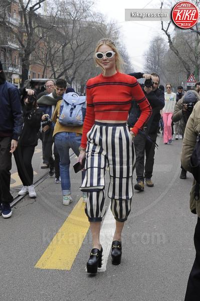 Chiara Ferragni - Milano - 23-02-2017 - Chi lo indossa meglio, Jordan Dunn o Chiara Ferragni?