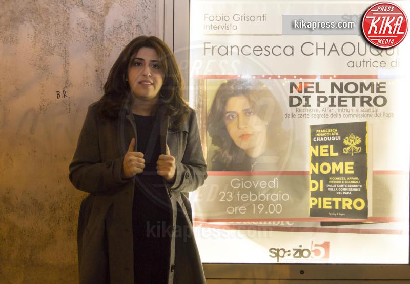 Francesca Chaouqui - Roma - 23-02-2017 - Francesca Chaouqui, la sua verità Nel Nome di Pietro