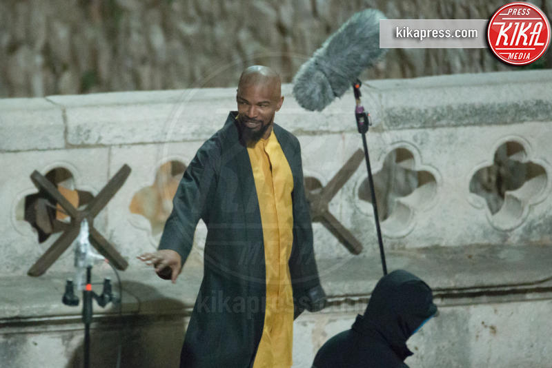 Jamie Foxx - Dubrovnik - 23-02-2017 - Jamie Foxx è Little John in Robin Hood Origins