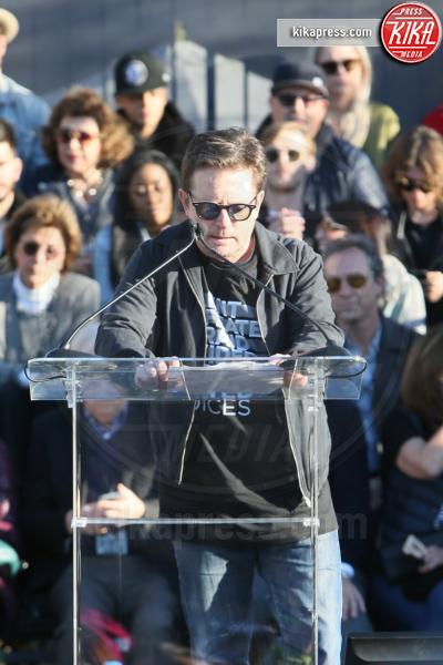 Michael J. Fox - Los Angeles - 25-02-2017 - Prima degli Oscar, Hollywood alza la voce contro Donald Trump