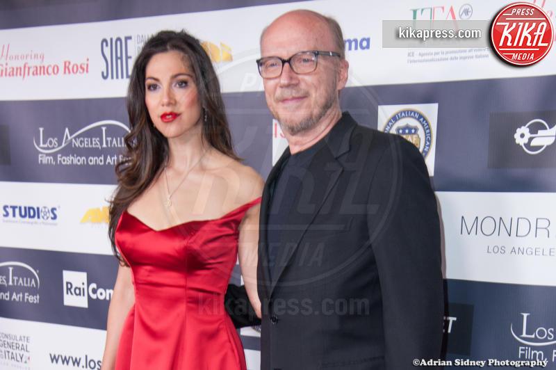 Eleonora Pieroni, Paul Haggis - Hollywood - 24-02-2017 - LA Italia Fest: Gianfranco Rosi sul red carpet prima degli Oscar