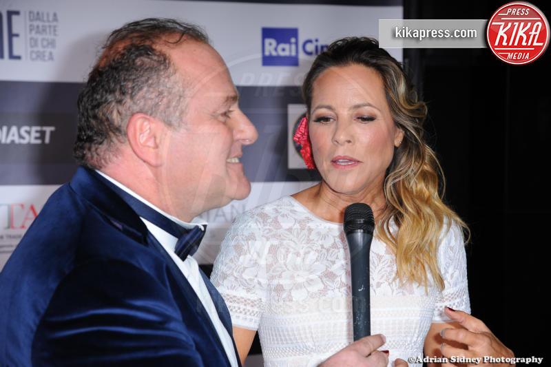 Pascal Vicedomini, Maria Bello - Hollywood - 24-02-2017 - LA Italia Fest: Gianfranco Rosi sul red carpet prima degli Oscar