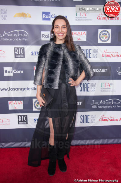 Cristina Serafini - Hollywood - 24-02-2017 - LA Italia Fest: Gianfranco Rosi sul red carpet prima degli Oscar