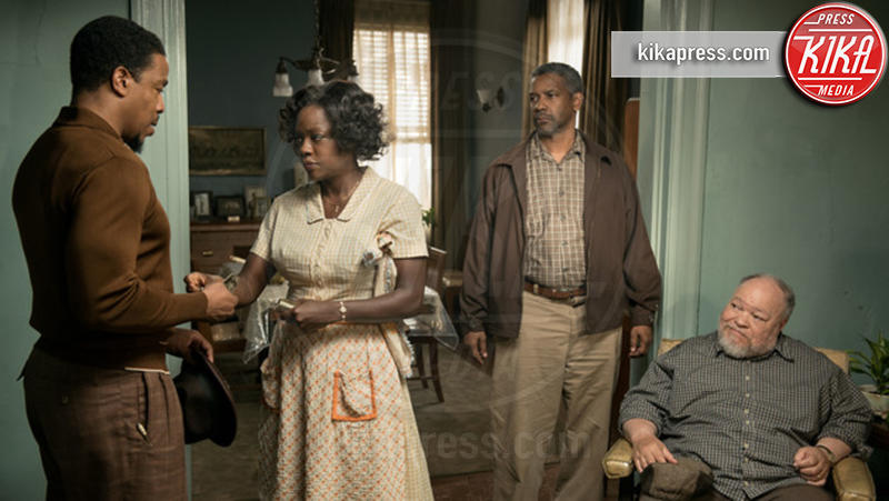 Fences, Viola Davis, Denzel Washington - Hollywood - 26-02-2017 - Oscar 2017: Viola Davis Migliore attrice non protagonista