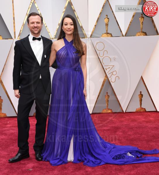Joanna Natasegara, Orlando von Einsiedel - Hollywood - 26-02-2017 - Oscar 2017: le coppie sul red carpet