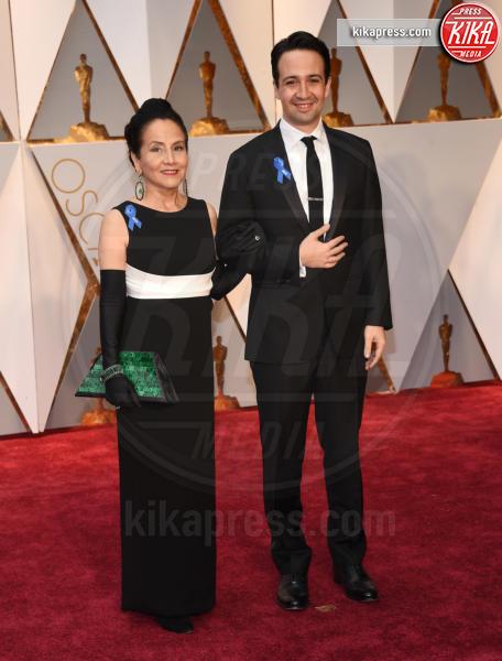 Lin-Manuel Miranda - Hollywood - 26-02-2017 - Oscar 2017: le coppie sul red carpet