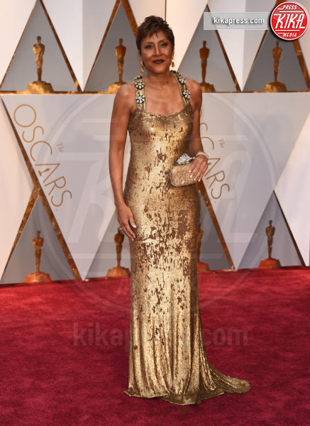 Robin Roberts - Hollywood - 26-02-2017 - Oscar 2017: le dive 'metalliche' della kermesse
