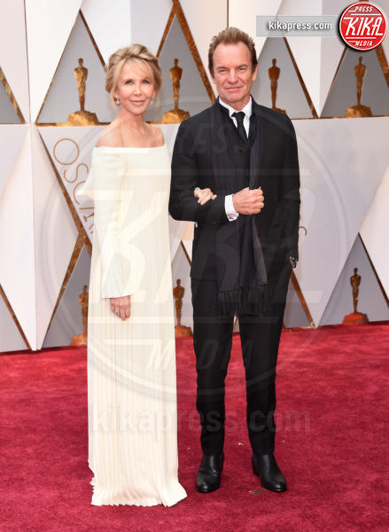 Trudie Styler, Sting - Hollywood - 26-02-2017 - Oscar 2017: le coppie sul red carpet