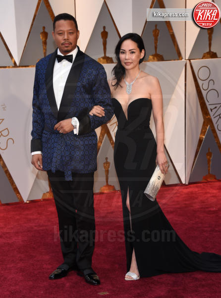 Terrence Howard - Hollywood - 26-02-2017 - Oscar 2017: le coppie sul red carpet