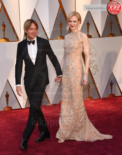 Keith Urban, Nicole Kidman - Hollywood - 26-02-2017 - Oscar 2017: le coppie sul red carpet