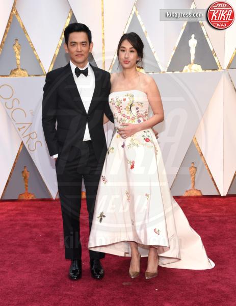 John Cho - Hollywood - 26-02-2017 - Oscar 2017: le coppie sul red carpet