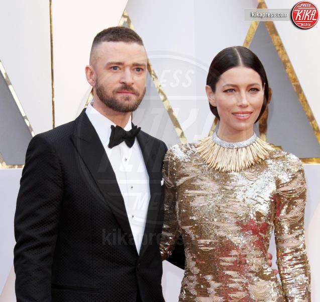 Jessica Biel, Justin Timberlake - Los Angeles - 26-02-2017 - La commovente dedica di Justin Timberlake a Jessica Biel