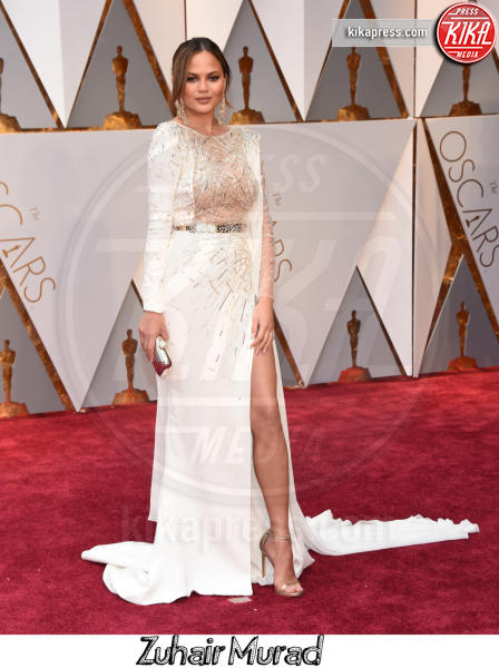 Chrissy Teigen - Hollywood - 26-02-2017 - Oscar 2017, gli stilisti sul red carpet