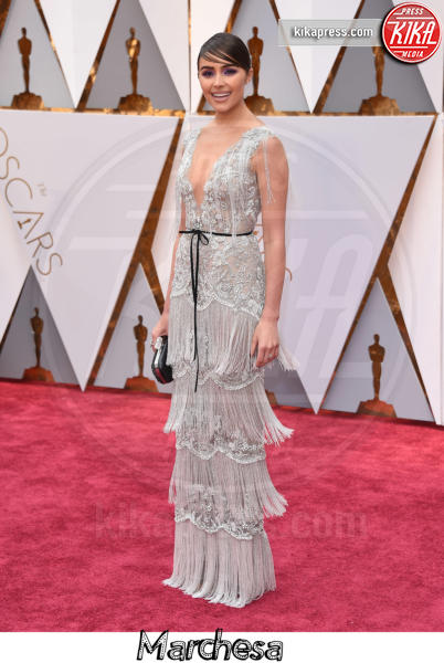 Olivia Culpo - Hollywood - 26-02-2017 - Oscar 2017, gli stilisti sul red carpet